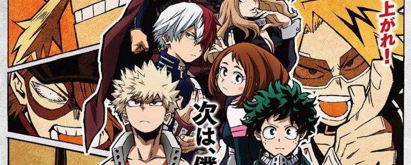 Boku No Hero Academia: Anime deve ganhar 4ª temporada